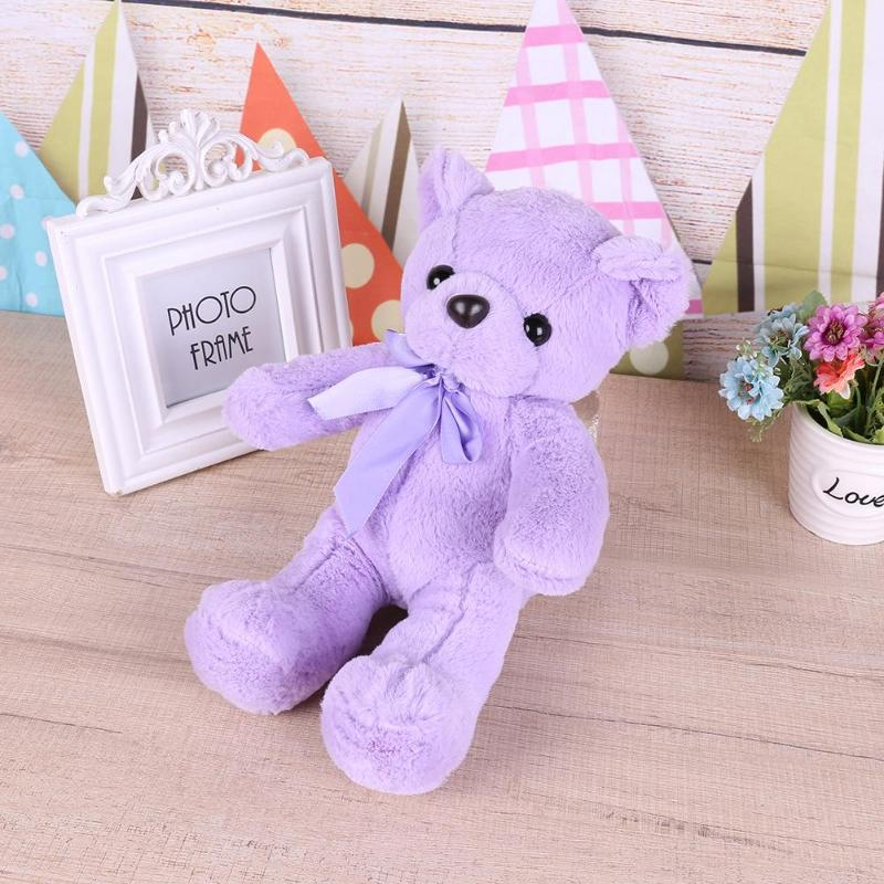 33cm Cute Teddy Bear Plush Toy Home Desktop Decorative for Baby Home Desktop Decorative Doll Stuffed Animals Toy Gift