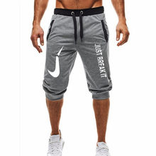 Hot ! 2018 New Hot-Selling Man's Shorts Summer Casual Fashion Shorts JUST BREAK IT print Sweatpants Fitness Short Jogger M-3XL(China)