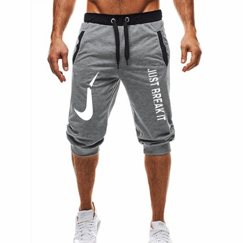 Hot! 2018 Nova Hot-Venda do Homem Shorts Verão Moda Casual Shorts APENAS QUEBRÁ-LO impressão Basculador Sweatpants Aptidão Curto m-3XL
