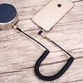 Mygeek 3.5mm aux cabo de áudio jack de 3.5 para jack banhado a ouro 90 graus de ângulo de cabo de áudio de 3.5mm macho para fêmea para o carro para o iphone