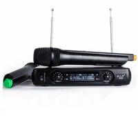 Wireless Karaoke Microphone MIC mikrofon Karaoke player KTV Karaoke Echo System Digital Sound Audio Mixer Singing Machine MICV2+