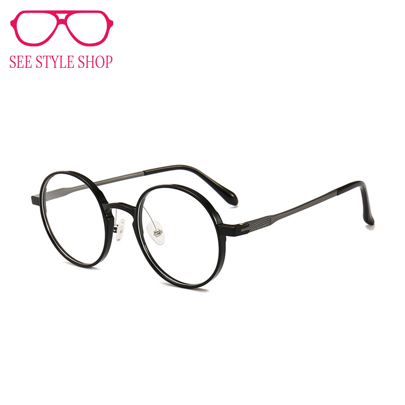 b9f2ab5133c1 Toketorism ultralight round glasses for men women prescription glasses  frames vintage accessories