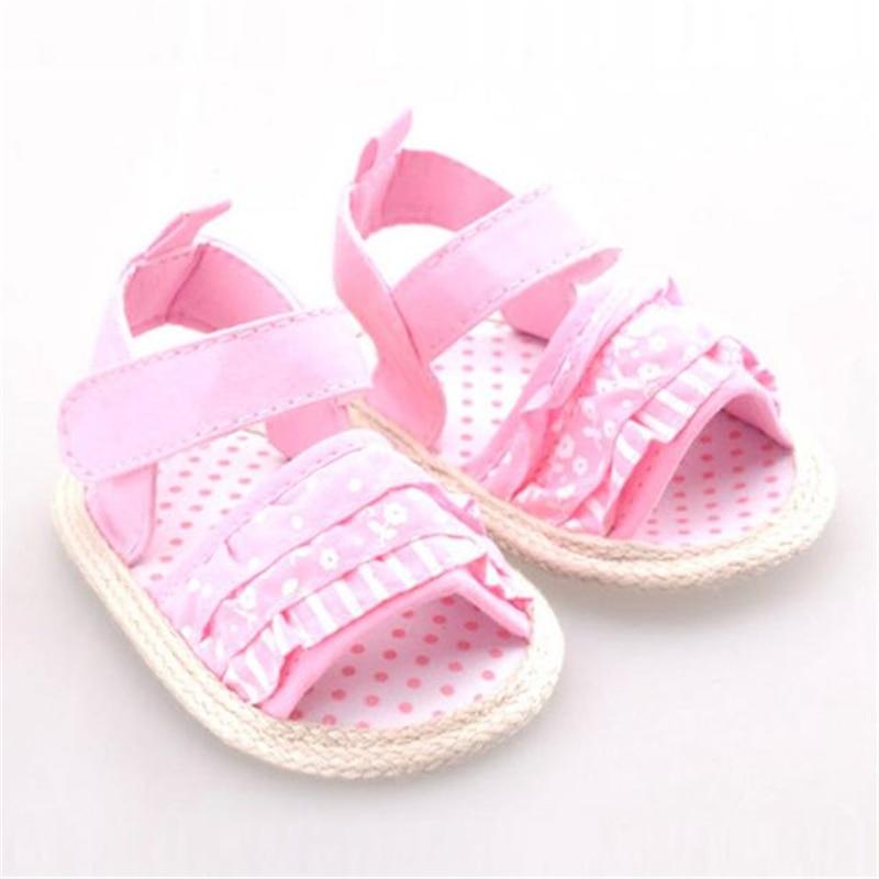 LONSANT для маленьких девочек обувь Детские печати новорожденных Мягкие Обувь Мода Прекр ...
