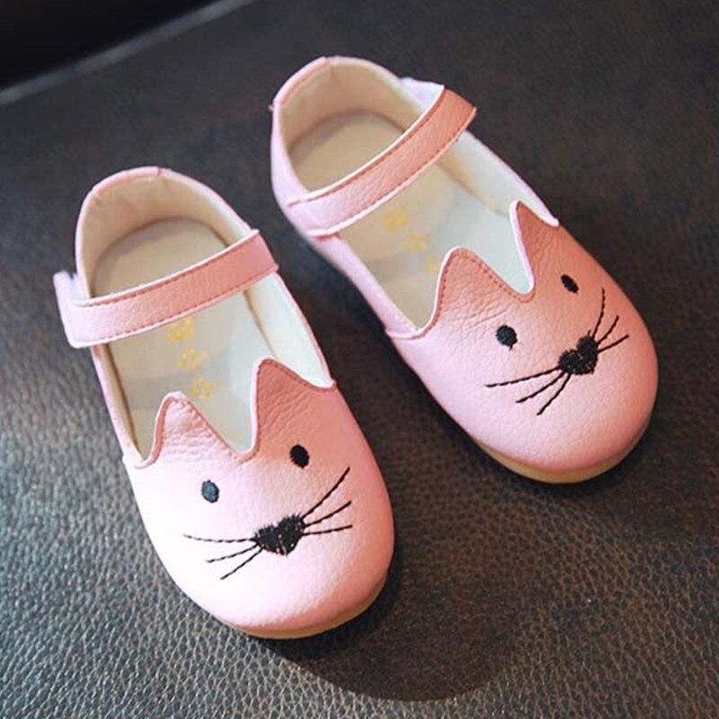 Wendywu 2017 Frühling Herbst Mädchen Echte Leder Shoes Jungen Flache Shoes Kinder Weiß Wohnungen Baby Shoes Kleinkind Schwarz Sommer Sandalen Phantasie Farben Babyschuhe
