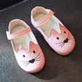 Wendywu 2017 primavera otoño de las muchachas de cuero genuino shoes boys flat shoes kids shoes pisos blancos bebé niño sandalias de verano negro