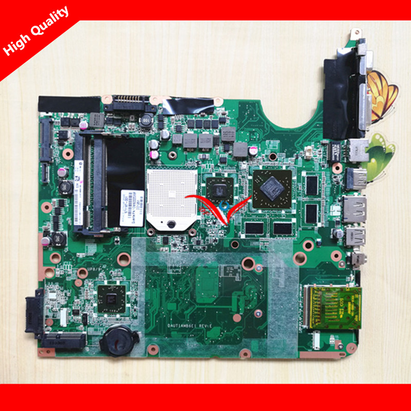 Fit FOR HP DV6-2000 DV6 Motherboard 571187-001 DAUT1AMB6E1 Laptop Motherboard 100% Tested Perfect Working