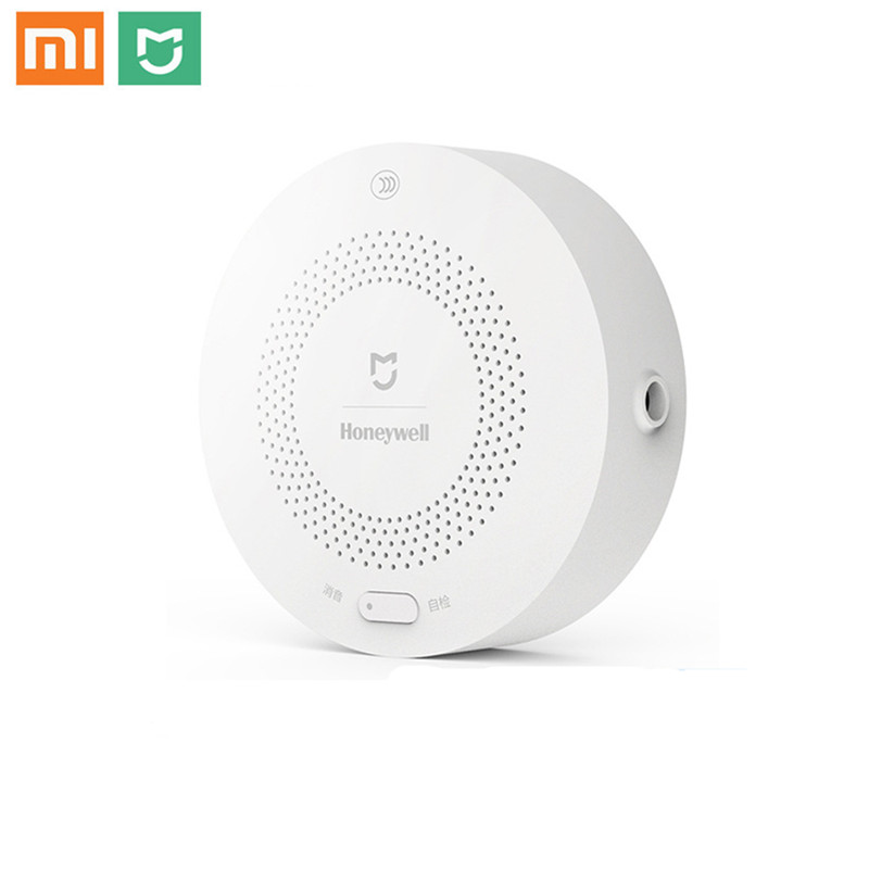 Original Xiaomi Mijia Honeywell Smart Gas Alarm Detector CH4 Gas Monitoring Ceiling&Wall Mounted Mihome APP Remote Control