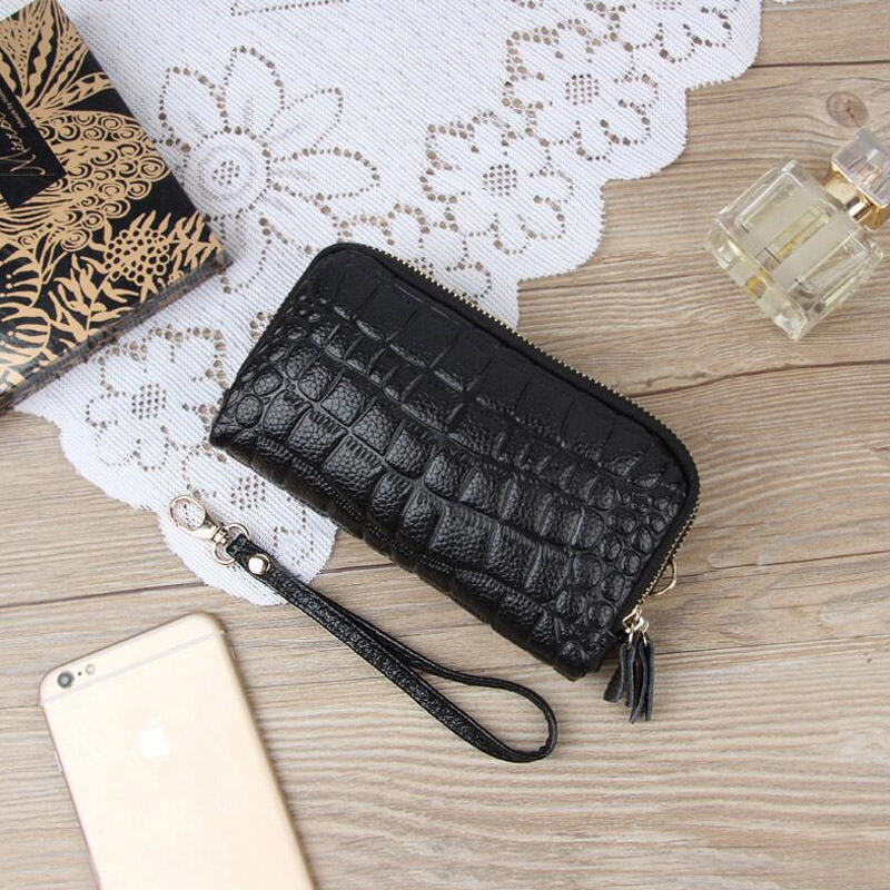 Leather Women Coin Bag Purse Zipper Stone Organizer Wallets Clutch Wristlet Wallet Bag Phone Key Case Credit Card Holder Tote simple organizer wallet women long design thin purse female coin keeper card holder phone pocket money bag bolsas portefeuille