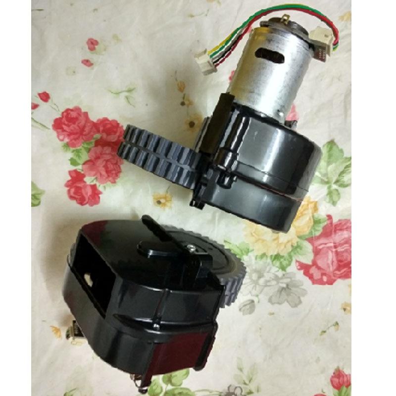 Original left wheel robot vacuum cleaner Parts for ilife V50 robot Vacuum Cleaner wheels motors стиральная машина candy aqua 135d2 07