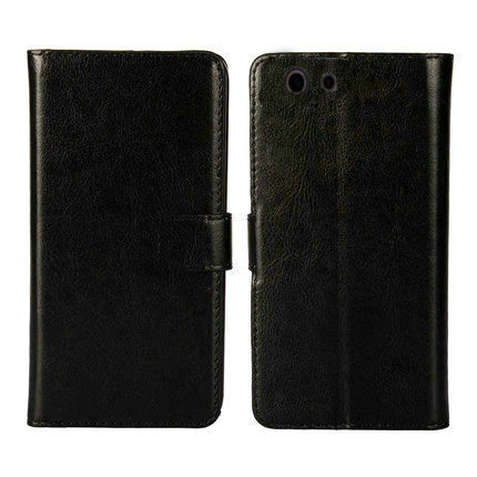 02 Hot!! 2016 ZTE Blade A512 Case, 6 Colors High Quality Leather Exclusive Cover For ZTE Blade A512