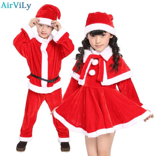 2017 christmas baby romper boys girls xmas clothes sets children dress kids santa claus costume suit