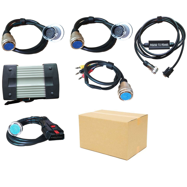 12v/24v Super MB Star C3 Full set five cables Auto Diagnostic tool MB C3 without HDD MB Star C3 Support for cars and trucks