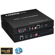 HDMI HDbast-t Extender Matrix HDBT 3 x 2 with Audio Amplifier UTP Support extend to 100m 4K*2K,RS232,EDID ,HDMI 1.4,HDCP 1.4