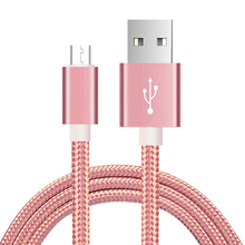 Cable Micro Usb Android Cable de carga rápida USB datos de Cable cargador de sincronización Cable de teléfono móvil para Samsung A7 S7 para Xiaomi