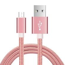 マイクロ Usb ケーブル高速充電 USB ケーブルデータ同期充電器携帯電話ケーブル A7 S7 xiaomi