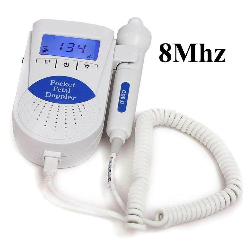 CONTEC Sonoline B Fetal Doppler Vascular Vascular Do Monitor com 8 MHZ Probe + gel livre CE