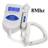 CONTEC Sonoline B Vascular Fetal Doppler Monitor with 8MHZ Vascular Probe+free gel CE