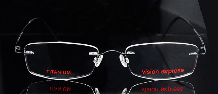 Titanium Flexible Rimless Eyeglass (9)