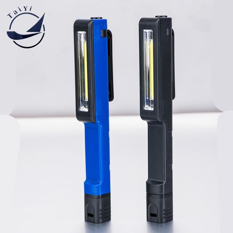TAIYI 3W din plastic nou COB cu LED-uri de lucru lumina Pen formă de - Iluminat portabil