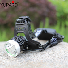 YUPARD CREE XML-L2 LED Aluminum alloy Headlamp Torch light Flashlight 3 Mode black super T6 white yellow light