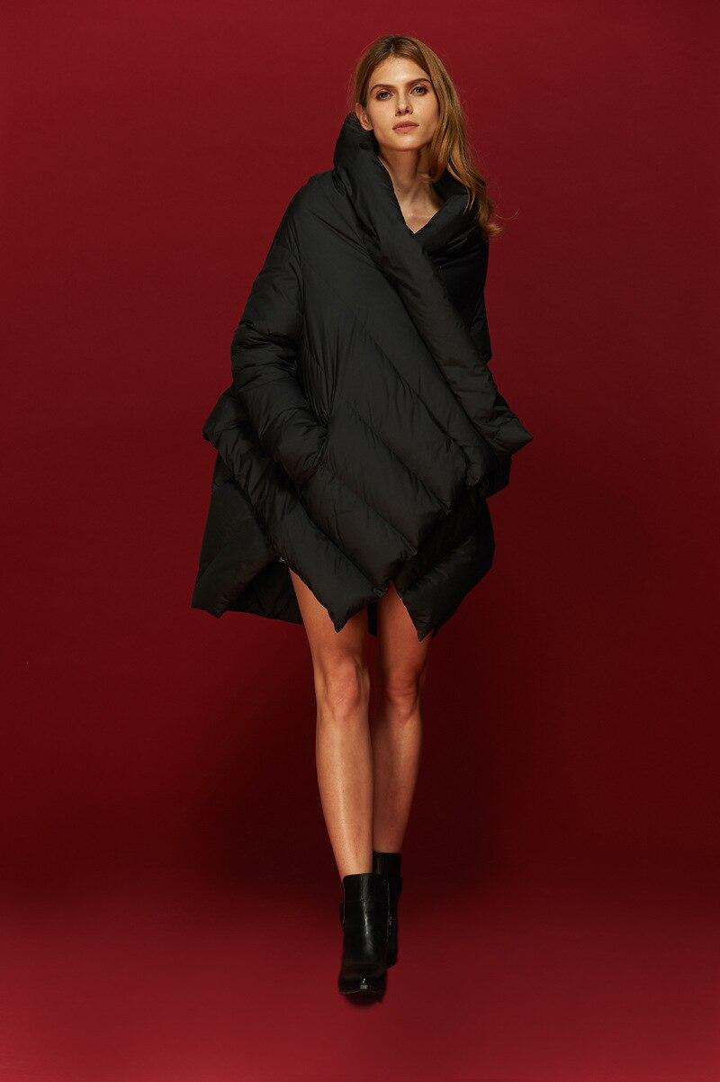 Asymétrique Parka Doudoune Fanceey Manteaux Mode À Chaude Européenne Noir Femelle Longueur Anorak bourgogne De 2019 Designer Capuchon Manteau D'hiver Femmes YwxYgn1vBq