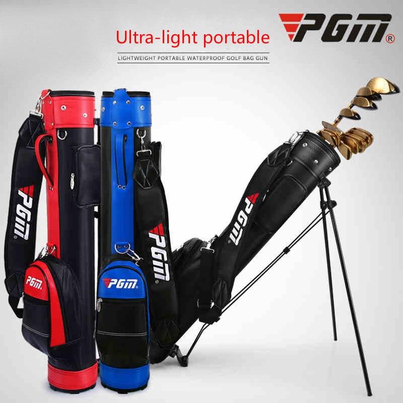 Professional Pgm Golf Bag Men Caddy Golf Cart Tripod Rack Stuff Golf Bag Women Big Capacity Golf Rack Bags 9 Clubs D0063