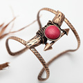 Charms Vintage Bracelets for women KC Red Turquoise  Armbanden voor vrouwen