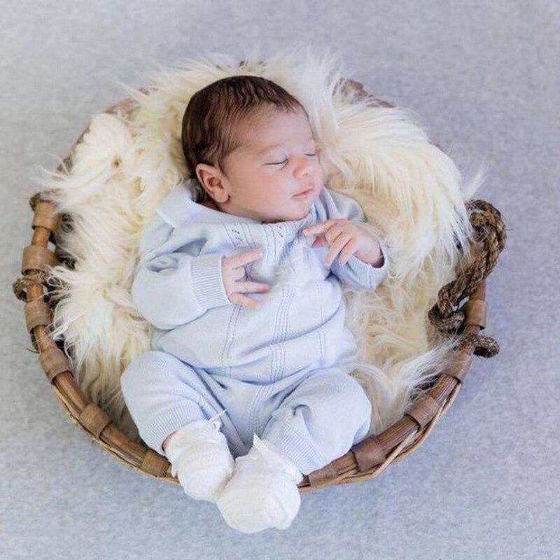 algodão manga comprida bebê menino roupas de malha infantil bebês