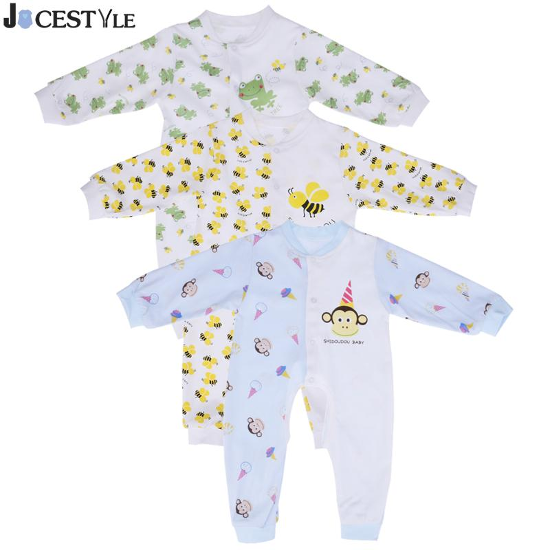 Baby Clothes Newborn Baby Romper Jumpsuit Infant Boy Girl Romper Clothes Cotton Long Sleeve Cartoon Crawl Clothing Girl Costume newborn infant girl boy long sleeve romper floral deer pants baby coming home outfits set clothes