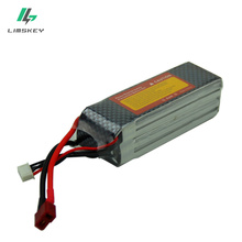 Limskey Power Lipo Battery 14.8V 2200mAh 25C Max 35C 4S T XT60 Plug