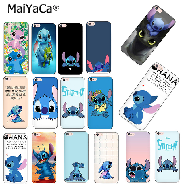 new arrival 99f3f 77af2 US $1.18 34% OFF|MaiYaCa Lilo Stitch fashion design skin thin soft tpu cell  phone Case for Apple iPhone 8 7 6 6S Plus X 5 5S SE 5C case cover-in ...