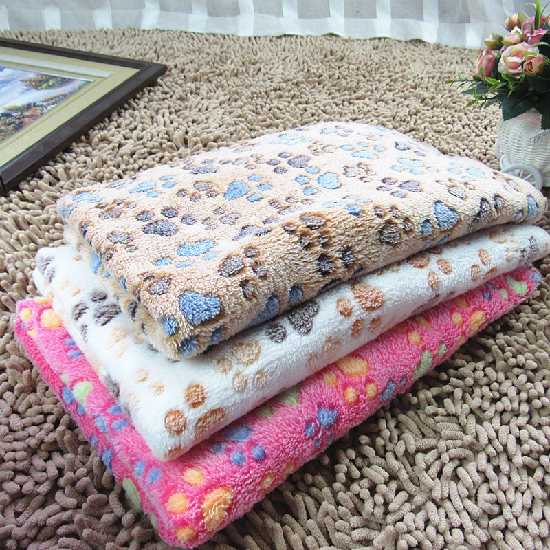 Cute-Warm-Pet-Bed-Mat-Cover-Small-Medium-Large-Towl-Paw-Handcrafted-Print-Cat-Dog-Fleece (2)