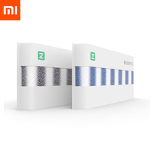 Serviette antibactérienne en polyéthylène Xiaomi ZSH série Sport 100% coton 2 couleurs très absorbante pour visage de bain en Stock