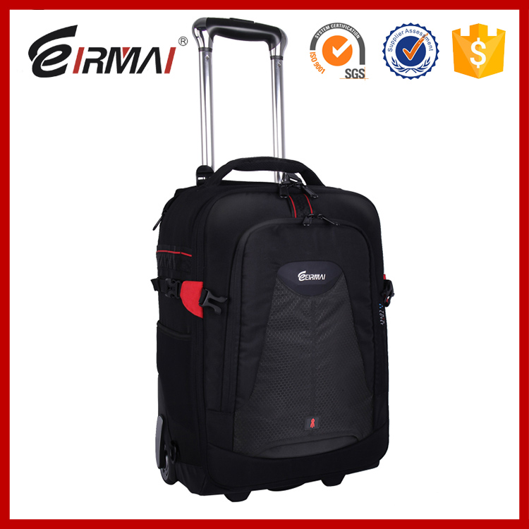 hot sale Trolley camera bags DSLR waterproof backpack multifunction camera bags EIRMAI Large space Trolley