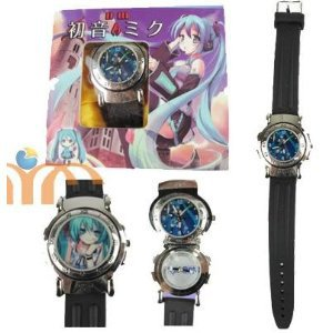Cosplay Costume Anime Watch Wrist With Cool Led Hatsune Miku On Aliexpress