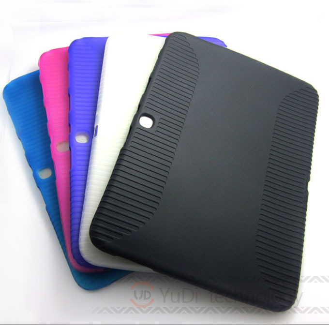 Case For Samsung Galaxy Tab 3 10.1 Soft TPU Silicone Rubber Protective Skin Case for Samsung Galaxy Tab 3 10.1 P5200 P5210 #YD52 ...
