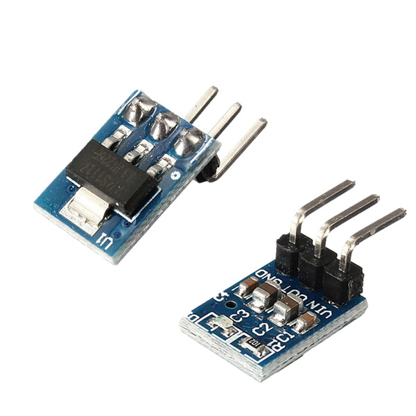 New Arrival 5V To 3.3V DC-DC Step-Down Power Supply Buck Module AMS1117 800MA Integrated Circuits Module Board image