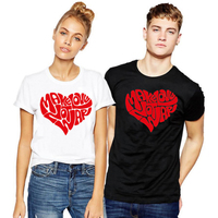 EnjoytheSpirit Make Love Not War Couple Family Tshirts Cotton Gift for Courle XS S M L XL XXL Cool Tshirts Couple Set