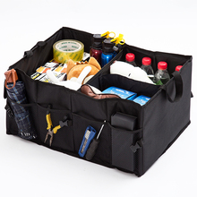 Auto tasche organizer Auto lagerung box Multi funktion falten lagerung box großhandel Auto backup storage box Stamm box tasche