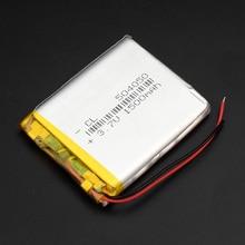 1/2/4pcs 3.7V 1500mAh 504050 Lithium Polymer LiPo Rechargeable Battery For Mp3 Mp4 GPS PAD DVD DIY E-book bluetooth цена