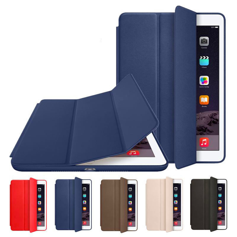 Stand Leather Case For iPad mini 4 Silk Slim Clear Transparent Smart Back Cover for Apple iPad Mini4 soft silicone tpu translucent back cover for ipad mini 4 mini4 trifold stand smart auto on off premium pu leather slim fit case