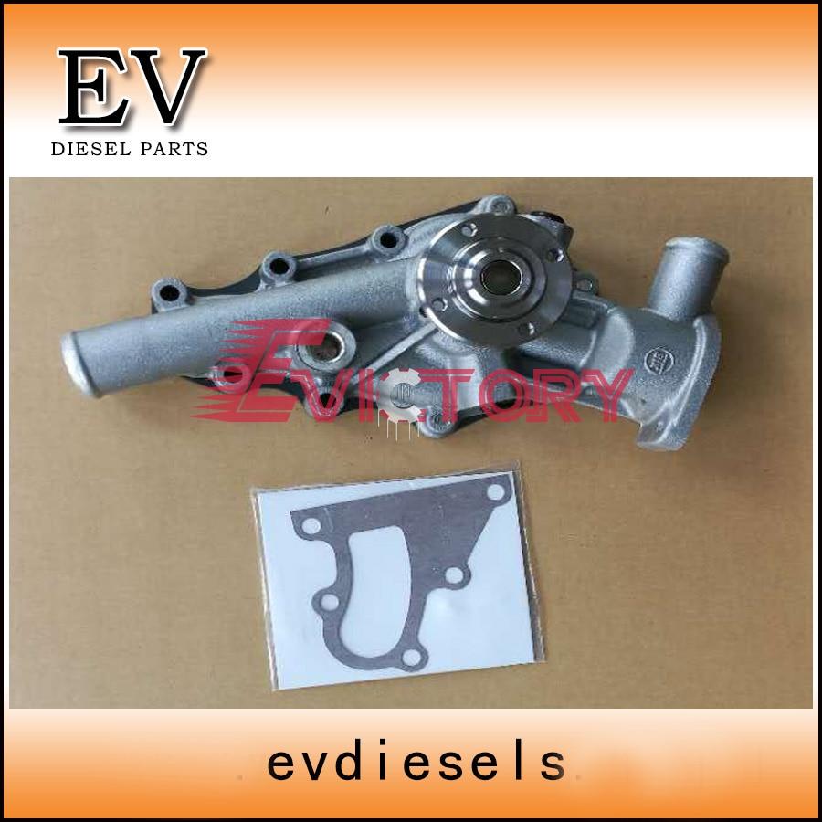 Для isuzuдвигатель мини-экскаватор 3KB1 водяной насос 8-97069387-0