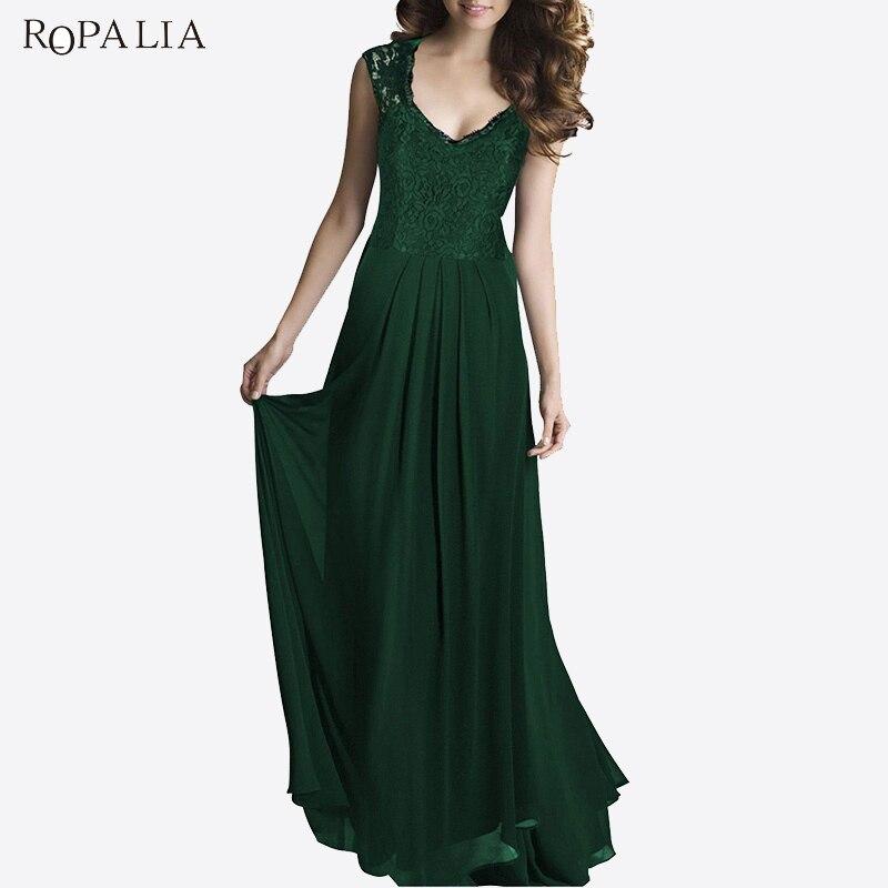 ROPALIA Summer Party Maxi Dress Female Elegant Sleeveless Openwork Back  Slim Dresses Women Long Vintage Vestidos-in Dresses from Women s Clothing  ... 6ea0fc3ab839
