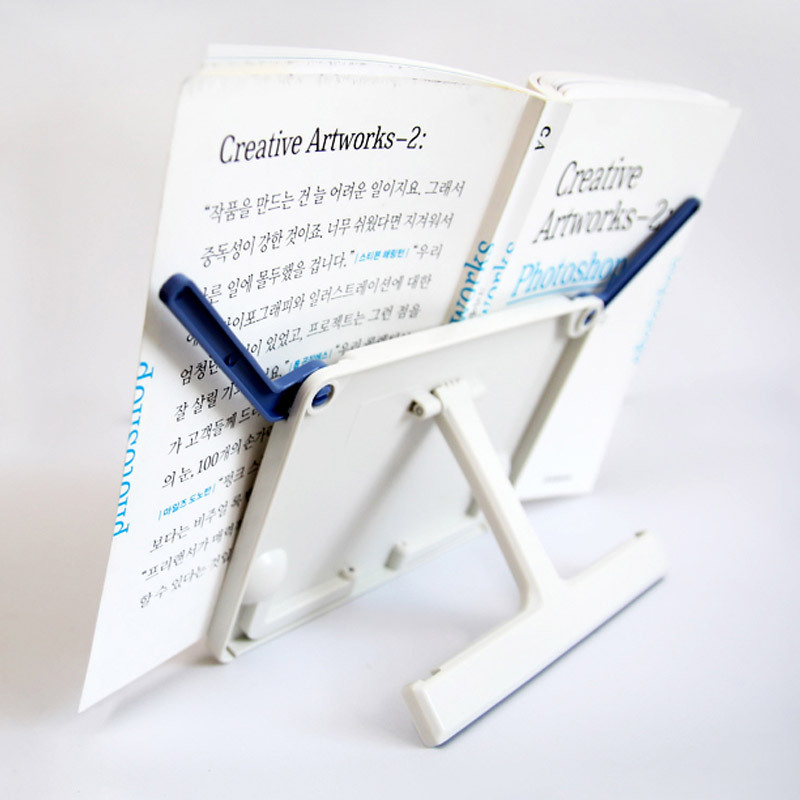 2018 Fashion lazy people Portable Folding Tablet Tablature Bookend Book Stand Reading Holder Book Holder Free Shipping