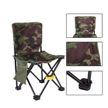 600D High-dense Waterproof Oxford Fishing Chairs with Fort Mount Folding Seat for Outdoor Camping Beach Chair Fishing Tool
