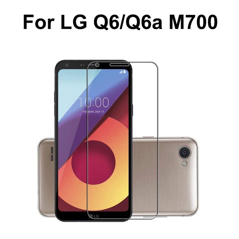 LG Q6a M700 üveg 9H keménységű edzett üveghez LG LG66 Alpha Q6 M700N M700DSK M700A képernyővédő fólia