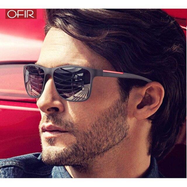 Ofir New 2019 Fashion Square Sunglasses Men Driving Sun Glasses For
