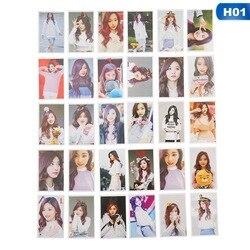 شعبية نجوم مرتين واحدة ألبوم LOMO بطاقات K-POP الصورة بطاقة صنع ورقة جديد الأزياء الذاتي