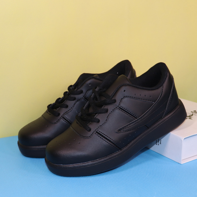 leather sport shoes kids