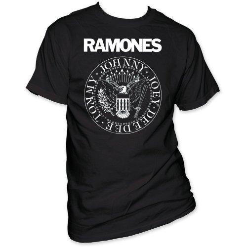 Impact Men's Ramones Presidential Seal Print T Shirt Summer Style